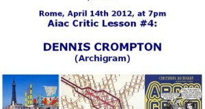 Aiac Critic Lesson #4: DENNIS CROMPTON (Archigram)