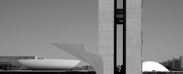 Oscar Niemeyer Brasilia Palazzo Dei Tre Poteri Batista Letter Design