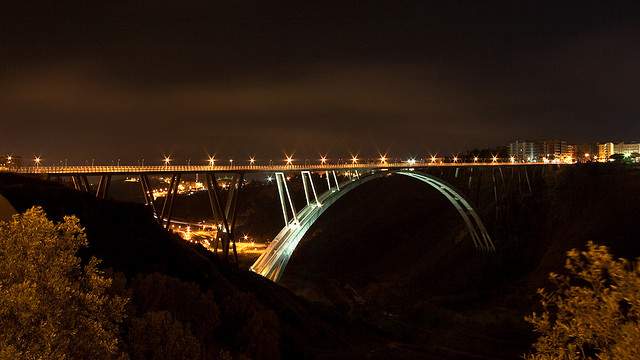 Riccardo Morandi, Ponte Fausto Bisantis, Catanzaro, 1958 - presS/Tletter