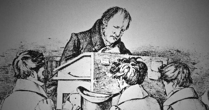 Hegel parla di architettura autonoma…