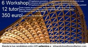 PROROGA ISCRIZIONI C'è tempo fino al 21 settembre per iscriversi alla Summer School Selinunte 2012: LET 'S BUILD!_30 settembre-7 ottobre