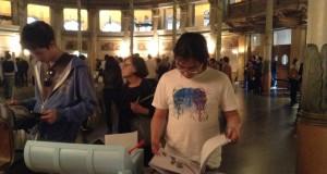 """Architects meet in Selinunte 2012 """"Partire_Tornare_Restare"""" _ Foto della mostra – Roma 2013"""