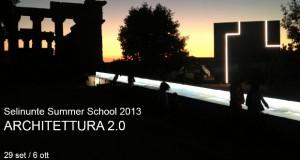Selinunte Summer School 2013_ ARCHITETTURA 2.0
