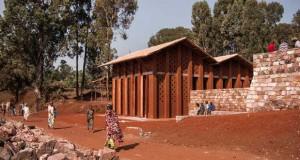 The library of Muyinga o BC architects