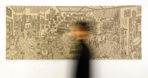 Interno 14: La Mostra dei disegni di Saleh Kazemi