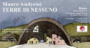 Mauro Andreini. Terre di nessuno. Disegni & dipinti 2007-2014 – Roma