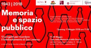 1943 – 2018 MEMORIA E SPAZIO PUBBLICO. 12 progetti per ricordare il bombardamento di San Lorenzo