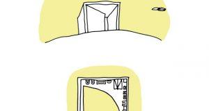 Large Door House –Casa Con Porta Grande – di Diego Lama
