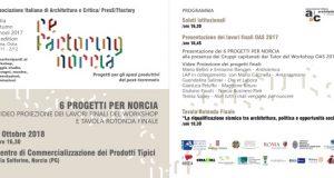 RE-FACTORING NORCIA: PROGETTI PER GLI SPAZI PRODUTTIVI DEL POST-TERREMOTO
