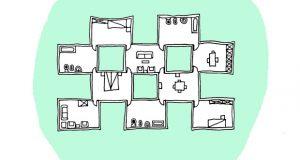 Chequered House – Casa A Scacchi – di Diego Lama