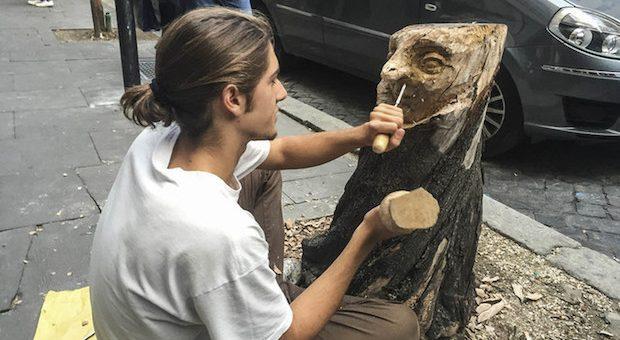 Andrea Gandini, scultore di strada – di Alessandra Muntoni