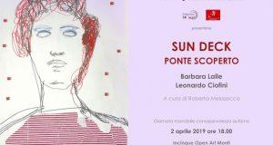 Barbara Lalle / Leonardo Ciofini – Sun deck Ponte scoperto | Giornata Mondiale per la consapevolezza sull'autismo